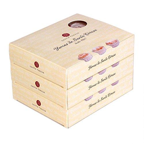 Pack de 3 cajas de Yemas de Santa Teresa: Amazon.es: Alimentación y bebidas