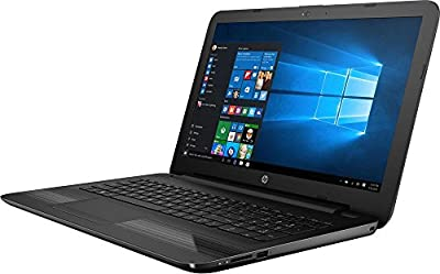 "2017 Latest HP 15.6"" Laptop - 7th Gen Intel Kaby Lake Intel Dual-Core i5-7200U 8GB Memory 2TB HDD WLED Backlight Textured linear gradient grooves in black"