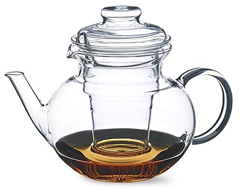 Simax 8593419327094 EVA teapot with Plastic Tea Insert 1L, Purple/Licious