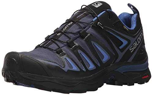 Salomon Women's X Ultra 3 GTX Trail Running Shoe, Crown Blue, 6 M US ()