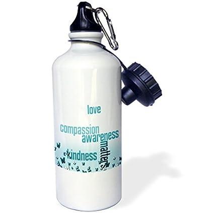 Botella de agua de acero inoxidable para mujeres y hombres ...
