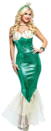 Dazzling Mermaid – Green - Medium Fancy Dress