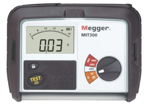Megger Battery Operated Megohmmeter, 1000VDC