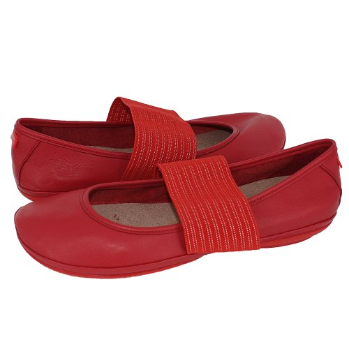 Camper Womens Right Nina 21595-009 Red Red 10