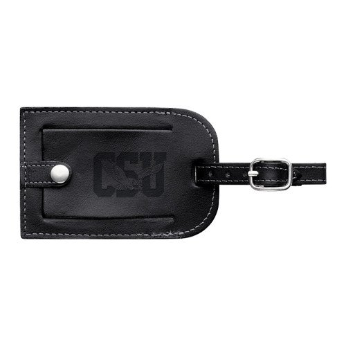 CollegeFanGear Coppin Millennium Leather Luggage Tag 'Official Logo Engraved' by CollegeFanGear