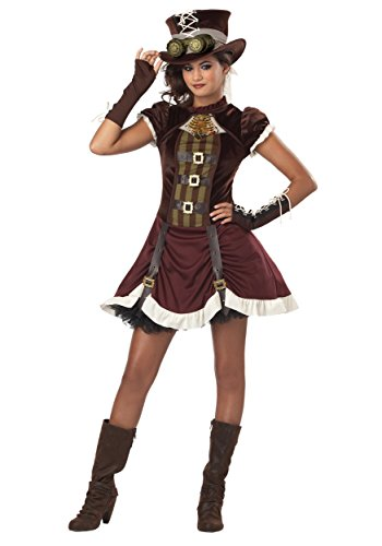 Tween Steampunk Girl Costume - M