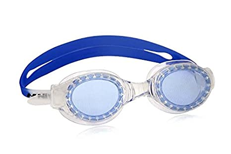 NIVIA SHARK SWIMMING GOGGLES   AGE 14+   WHITE/BLUE  Swimming Goggles