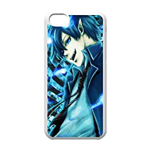 Blue Exorcist iPhone 5c Cell Phone Case White yyfabb-133954