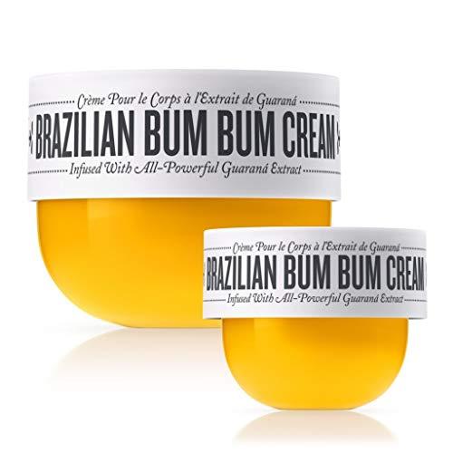 Sol de Janeiro Bum Bum Cream, Includes a full size (240ml) and a travel size (75ml) Brazilian Bum Bum Cream. - Bundle 2 pack