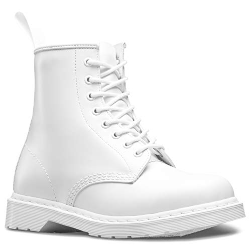 5a807401c Dr. Martens Unisex 1460 8-Tie Lace-Up Boot,White Smooth,UK 8 (US 9, 10) M  US (B005Z1G4EA) | Amazon price tracker / tracking, Amazon price history  charts, ...