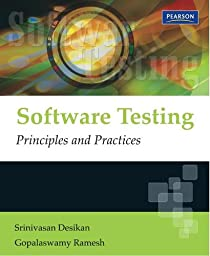 Software testing srinivasan desikan gopalaswamy ramesh