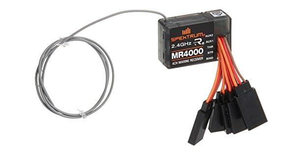 Spektrum MR4000 4 Channel DSMR Marine Receiver SPMMR4000