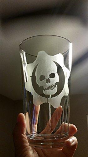 Gears Of War Pint Glass Beer Cup