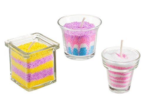 Rachels Art Candle Making Kit- Create Your Own Unique Candles with 5 Bags of Colored Wax by Rachel's Art