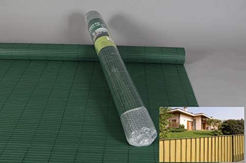 thesecrethome.es Valla OCULATACION Exterior PVC Verde 3X1.5 m para Jardin O TERRAZA: Amazon.es: Hogar