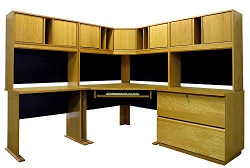 Rush Furniture Carolina Veneers Modulars Desk, 60-Inch