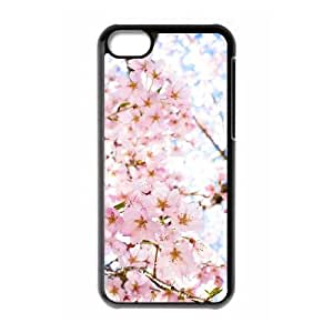 iPhone 5c Cell Phone Case Black sakura as a gift B2425198