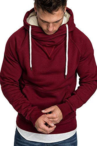 ECHOINE Hoodies for Men Pullover Sweatshirts – Long Sleeve Workout Athletic Hoodies Sport Pullover Gym Clothes