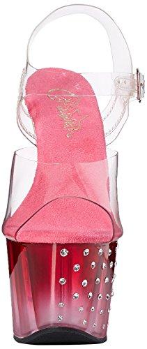 Clr Clr Pink Sandali 708t Pleaser Donna Stardust Trasparente w47q87