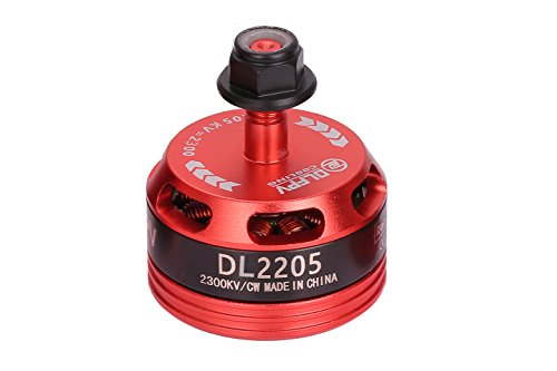 DLFPV 1pcs DL2205 2300KV Brushless Motor CW for FPV RC Drone Racing Quadcopter Multicopter