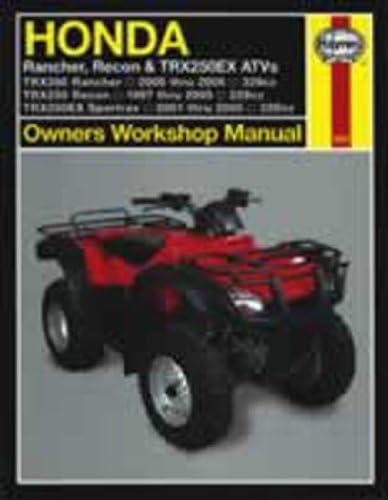 Haynes Manual 2553 Honda ATV + t9811 Rancher; Recon ...