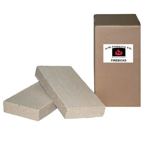 AW Perkins Fire Bricks - Used To Repair / Build Fireboxes (Us Stove Firebrick)