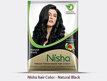 Amazon Com Natural Color Hair Henna Powder Natural Black 10g