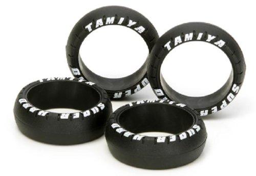 Tamiya Super Hard large diameter barrel tire (Black) 94943 Tamiya