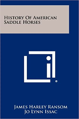 History of American Saddle Horses: James Harley Ransom, Jo