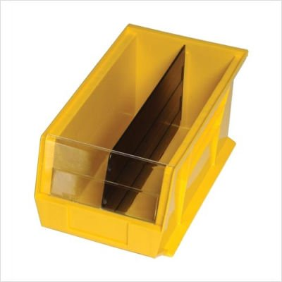Hulk Dividers Container (Quantum Divider For Hulk 2-Foot Deep Clearview Bins - Fits 11X23-7/8 X7