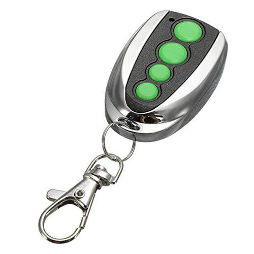 GEZICHTA 433.92MHz Rolling Code 4 Buttons Garage Door Remote Controller for Merlin M842, Garage Door Opener Remote Control Key Fob (Merlin Garage Door Opener Remote Not Working)