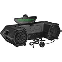 Planet Audio PATV85 Bluetooth, Amplified Sound System, Waterproof Speakers & Tweeters, Bluetooth Remote, Ideal For ATV/UTV