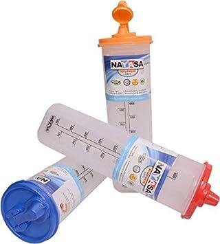 Nayasa Oil Dispenser Set,1000 ml  Set of 3, Multicolor  Jars   Containers