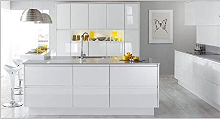 CK Kitchens Malmo White Gloss (Burbidge range) Kitchen units u0026 doors Rigid Built Kitchens  sc 1 st  Amazon UK & CK Kitchens Malmo White Gloss (Burbidge range) Kitchen units u0026 doors ...