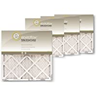 Enviroflow 16x25x1 (15.75 x 24.75) Pollen and Dust Control (4 Pack)