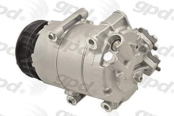 Amazon Com Global Parts Distributors New A C Compressor Fits 14 17 Fiesta 6513101 Automotive