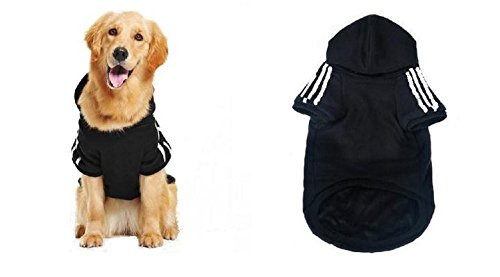 KayMayn Adidog Sport Dog Hoodie Pet Puppy Dog Cat Shirt Coat Clothes Hoodie Sweater Costumes Big /& small Size ,7 Colours S to 9XL