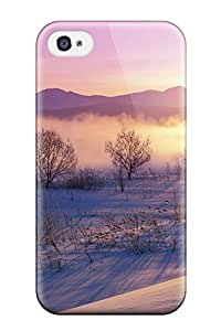 New Arrival Snowy Dawn AtgGhjG3485zvmgx Case Cover/ 4/4s Iphone Case