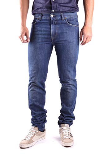 Marc Jacobs Men's Mcbi16994 Blue Cotton Jeans