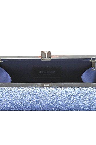 Línea De Alta Calidad Envío Libre Confiable Jimmy Choo Pochette Donna MCGLBRE03021E Glitter Azzurro Tienda De Descuento En Línea De Envío Venta Caliente De La Venta Ru1KVq1