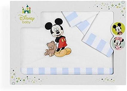 Sabanalia - Juego de sábanas para cuna Mickey (Disponible en ...