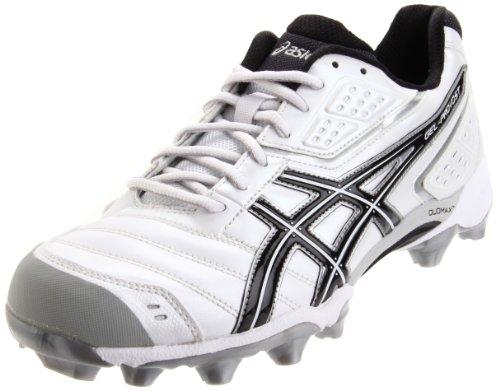 ASICS Men's GEL-Provost Low Sport Style Sneaker,White/Black/Silver,9.5 M US (Best Cleats For Ultimate Frisbee)
