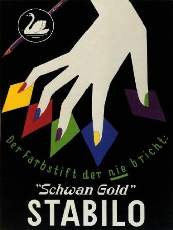 canvas-pencil-stabilo-schwan-gold-fashion-hand-nails-12-x-16-inches-image-size-poster-reproduction-o