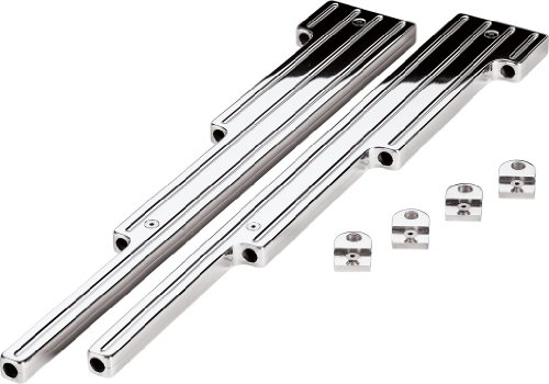 Billet Specialties 69520 Polished Ball Milled Universal Wire Loom