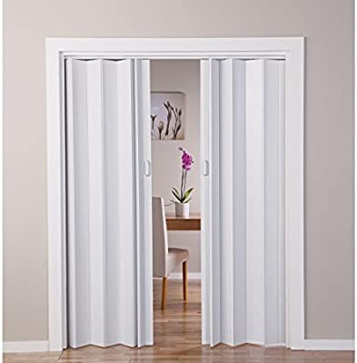 With Oak - Puerta doble efecto plegable, color blanco (770045422): Amazon.es: Jardín