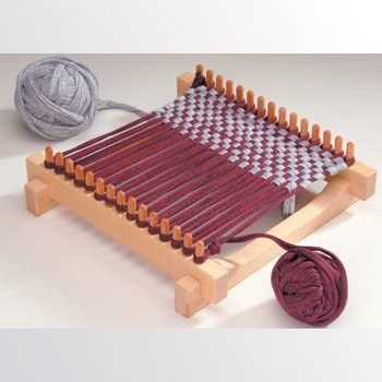 Includes Materials to Make 2 Potholders Retro Crafting Kit Family Fun Weaving Loom