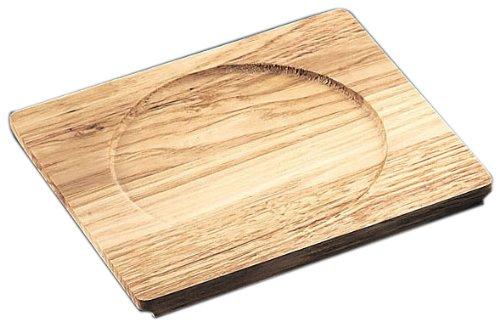 Ishigaki industry magic of the dish for the dedicated wood base round 3211