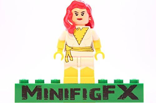 (LEGO Custom White Phoenix Minifigure Marvel X-Men Mutant Jean Grey Made Using Genuine)