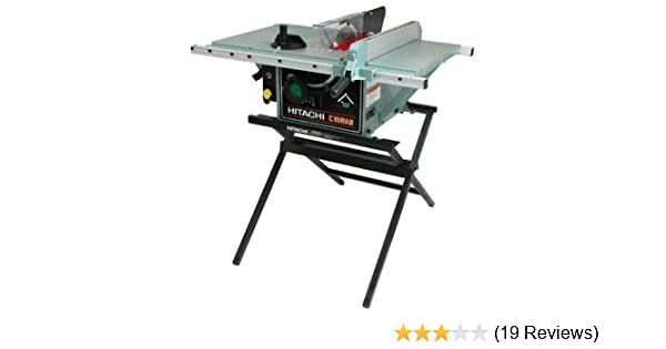 Hitachi c10ra2 10 inch portable table saw with metal stand hitachi c10ra2 10 inch portable table saw with metal stand discontinued by manufacturer power table saws amazon greentooth Image collections