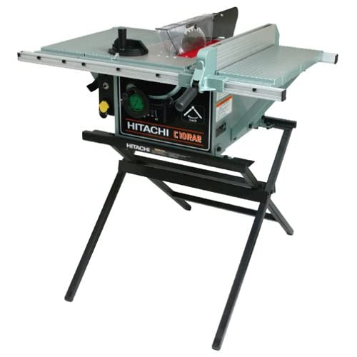 Captivating Factory Reconditioned Hitachi C10RA2 R 10 Inch 15 Amp Table Saw With Stand    Power Table Saws   Amazon.com